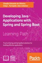 Okładka książki Developing Java Applications with Spring and Spring Boot