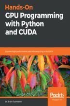 Okładka książki Hands-On GPU Programming with Python and CUDA