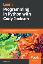 Okładka książki Learn Programming in Python with Cody Jackson