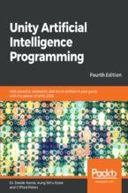 Okładka książki Unity Artificial Intelligence Programming