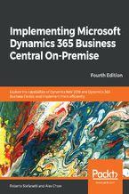 Okładka książki Implementing Microsoft Dynamics 365 Business Central On-Premise