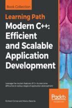 Okładka książki Modern C++: Efficient and Scalable Application Development