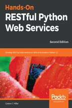 Okładka książki Hands-On RESTful Python Web Services