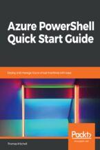 Okładka książki Azure PowerShell Quick Start Guide