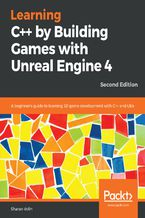 Okładka książki Learning C++ by Building Games with Unreal Engine 4