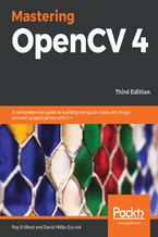 Okładka książki Mastering OpenCV 4