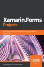 Okładka książki Xamarin.Forms Projects
