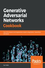 Okładka książki Generative Adversarial Networks Cookbook