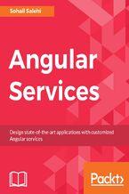 Okładka książki Angular Services
