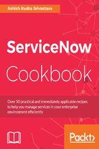 Okładka książki ServiceNow Cookbook
