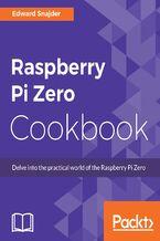 Okładka książki Raspberry Pi Zero Cookbook