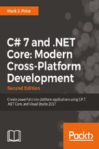 Okładka książki C# 7 and .NET Core: Modern Cross-Platform Development - Second Edition