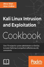 Okładka książki Kali Linux Intrusion and Exploitation Cookbook