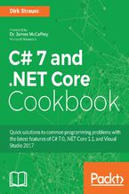Okładka książki C# 7 and .NET Core Cookbook
