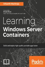 Okładka książki Learning Windows Server Containers