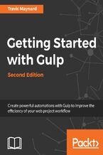 Okładka książki Getting Started with Gulp  Second Edition
