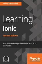 Okładka książki Learning Ionic - Second Edition