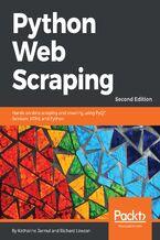 Okładka książki Python Web Scraping - Second Edition