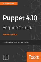 Okładka książki Puppet 4.10 Beginner's Guide - Second Edition