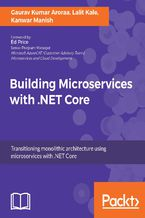 Okładka książki Building Microservices with .NET Core