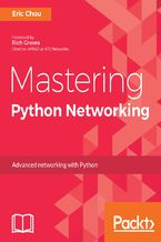 Okładka książki Mastering Python Networking