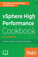 Okładka książki vSphere High Performance Cookbook - Second Edition
