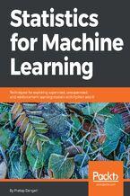 Okładka książki Statistics for Machine Learning