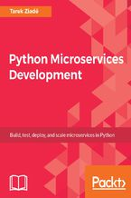 Okładka książki Python Microservices Development