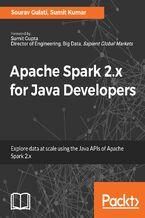 Okładka książki Apache Spark 2.x for Java Developers