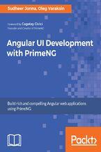Okładka książki Angular UI Development with PrimeNG