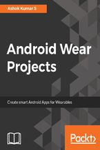 Okładka książki Android Wear Projects