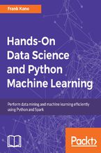 Okładka książki Hands-On Data Science and Python Machine Learning