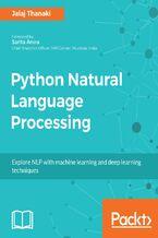 Okładka książki Python Natural Language Processing