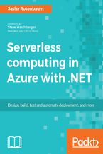 Okładka książki Serverless computing in Azure with .NET