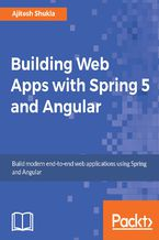 Okładka książki Building Web Apps with Spring 5 and Angular