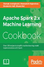 Okładka książki Apache Spark 2.x Machine Learning Cookbook