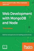 Okładka książki Web Development with MongoDB and Node - Third Edition