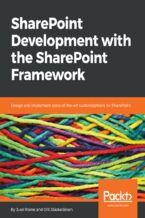Okładka książki SharePoint Development with the SharePoint Framework