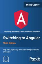 Okładka książki Switching to Angular - Third Edition