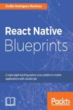 Okładka książki React Native Blueprints