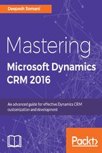 Okładka książki Mastering Microsoft Dynamics CRM 2016