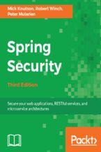 Okładka książki Spring Security - Third Edition