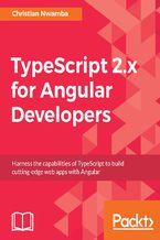 Okładka książki TypeScript 2.x for Angular Developers