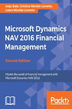 Okładka książki Microsoft Dynamics NAV 2016 Financial Management - Second Edition