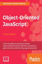 Okładka książki Object-Oriented JavaScript - Third Edition