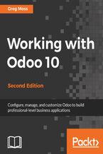 Okładka książki Working with Odoo 10 - Second Edition