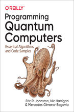 Okładka książki Programming Quantum Computers. Essential Algorithms and Code Samples