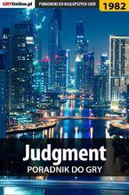 Judgment - poradnik do gry