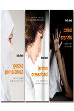 Pakiet ebooków autorstwa Nadii Hamid: Gorzka pomarańcza, Jarzmo przeszłości, Dzieci szariatu