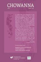"""""""Chowanna"""" 2017. T. 2 (49): Zagadnienie oporu w perspektywie interdyscyplinarnej - między emancypacją a stagnacją"""